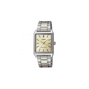 d7b39364eaa Relógio Masculino Analógico Casio MTP-V007SG-9EUDF - Prata DR -