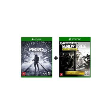 Combo Metro Exodus + Rainbow Six Siege Edição Avançada - Xbox One