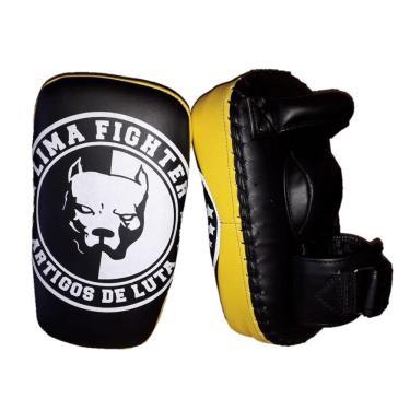 Aparador Soco Chute Reto Pitbull Lima Fighter Treino Luta