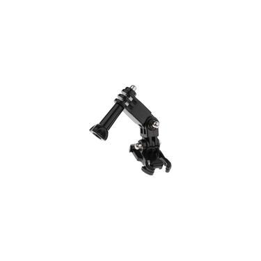 Suporte De Montagem Lateral Adesivo Curvo Para Capacete Para Câmera Gopro Hero 5 4 3