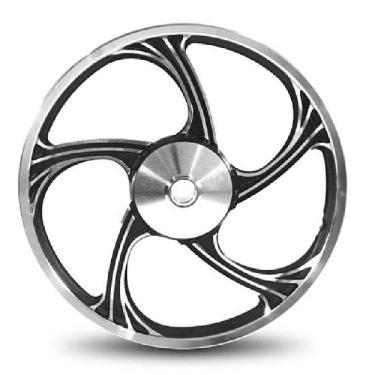 Imagem de Roda Aluminio Dianteira Temco Icarus Preto Cg 125  /2008