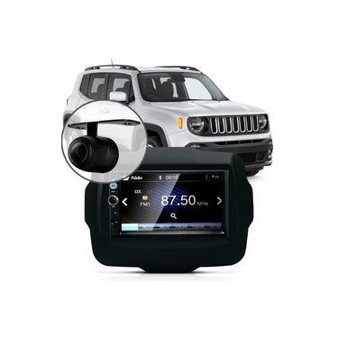 Central Multimídia Mp5 Jeep Renegade Pcd Câmera Espelhamento