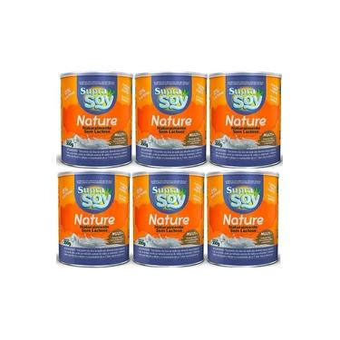Suprasoy Nature Naturalmente Sem Lactose Suprasoy 6 x 300g