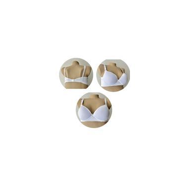 Imagem de Sutiã plus size bojão tamanhos especiais 54 branco
