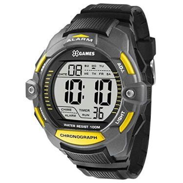 acf1ce5c29f Relógio Masculino X-Games Xmppd432 Bxpx - Cinza Preto
