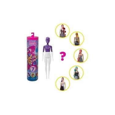 Imagem de Barbie Color Reveal Surpresa Colorido Mattel - GWC56