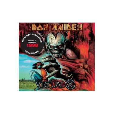 Cd Iron Maiden Virtual Xi (1998) Remastered