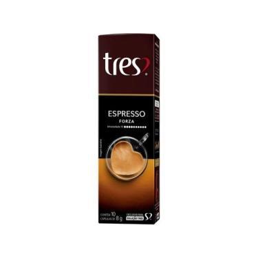 Cápsula de Café Espresso TRES Forza - 10 Unidades