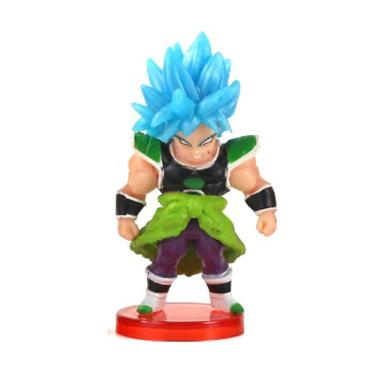 Action Figure Dragon Ball Super Broly SSJ Blue 7cm