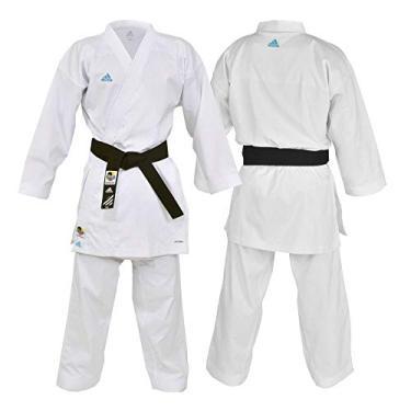 Kimono Karatê Adidas Revoflex K190Sk Selo WKF 175