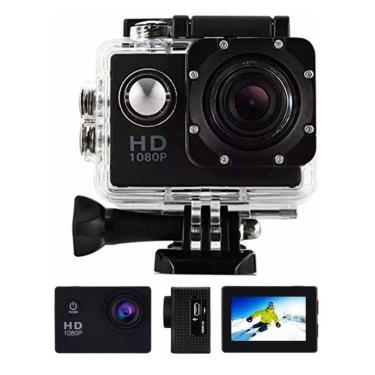 Imagem de Câmera Filmadora Sports Full Hd 1080P Aprov D'Agua