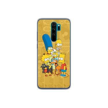 Capa para Xiaomi Redmi Note 8 Pro - História em Quadrinhos | Simpsons
