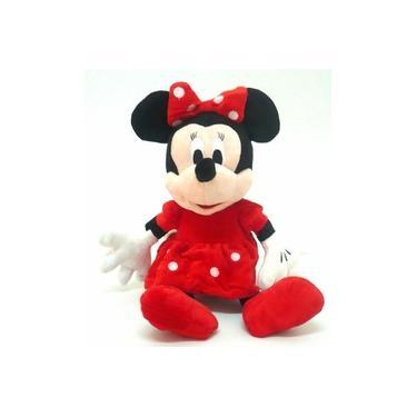 Imagem de Minie Vermelha Pelúcia Musical 27 Cm Turma Do Mickey Minnie