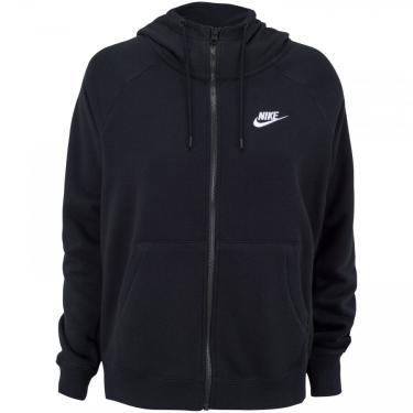 Jaqueta com Capuz Nike Sportswear Essential Hoodie FZ FLC - Feminina Nike Feminino