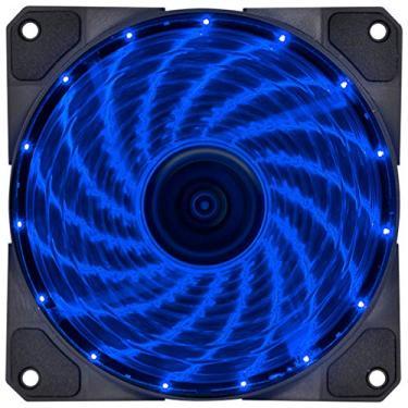 Fan/Cooler VX Gaming V.LUMI 15 Pontos de LED 120 x 120 Azul, Vinik, 29563