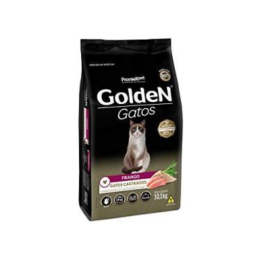 Ração Golden para Gatos Adultos Castrados Sabor Frango - 10,1kg Premier Pet para Todas Todos os tamanhos de raça Adulto - Sabor Frango