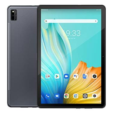 "Imagem de Tab 10 Android 11 Tablet 10,1""MTK8768 Octa Core 1920x1200 4GB RAM 64GB ROM Rojo 4G 7480mAh tabletas PC WiFi Dual (Preto)"