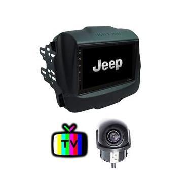 Central Multimídia MP5 TV Jeep Renegade 2016 2017 2018 2019 2020