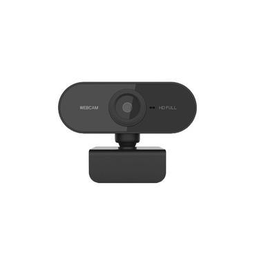 Webcam FullHD 1080P com Microfone - Plug & Play