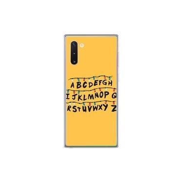 Capa para Galaxy Note 10 Plus- Stranger Things | Alfabeto Luzes