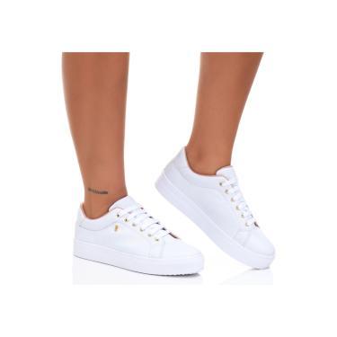 Imagem de Tenis Feminino Casual Sapatenis Estilo Shoes branco feminino