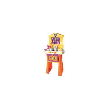 Imagem de Brincando de Casinha Maria Clara Cozinha 82 Cm 17 Pcs Baby Brink