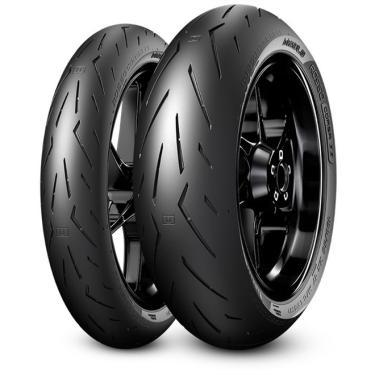 Pneu Pirelli Diablo Rosso Corsa 2 190/55-17 + 120/70-17 Combo