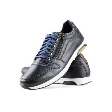 Imagem de Sapatenis Florense Casual Easywear Azul Dh10