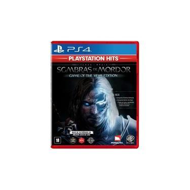 Terra-Media Sombras de Mordor Goty Hits - PS4