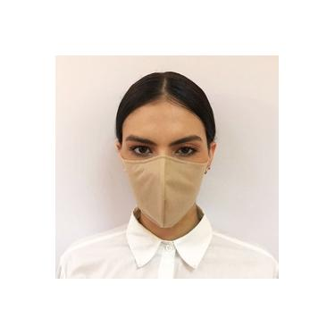 Máscara hospitalar ninja tripla camada TNT 40 Nude elástico auricular Salvaguarda
