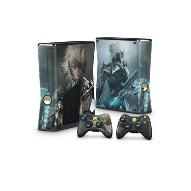 Skin Adesivo para Xbox 360 Slim - Metal Gear Solid Rising