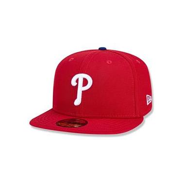 Bone 59Fifty Philadelphia Phillies Mlb Vermelho