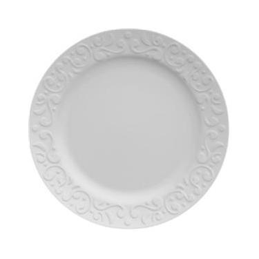 Jogo de 6 Pratos Rasos Porcelana Tassel 26cm - Germer