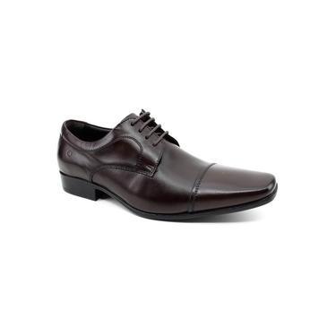 Sapato Social Democrata Aspen 450052 Marrom
