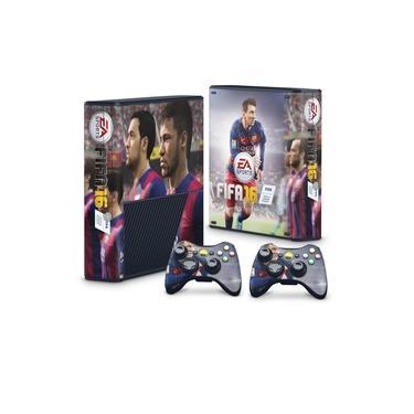 Skin Adesivo para Xbox 360 Super Slim - Fifa 16