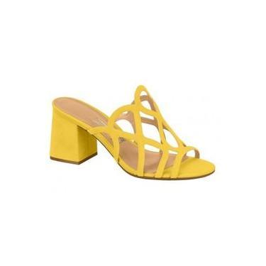 Tamanco Vizzano Amarela Nobuck 6364.108