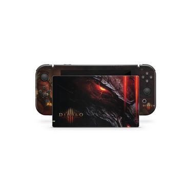 Skin Adesivo para Nintendo Switch - Diablo Iii