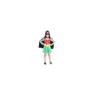 Imagem de Fantasia Infantil Robin Feminina 22106 - Sulamericana
