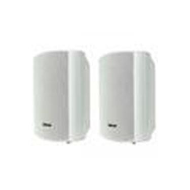 Caixa Acústica Branca 150w Rms Ambiental Par Ob-320 Oneal