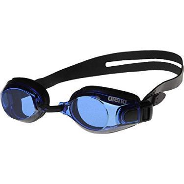 Arena Oculos Zoom X-Fit Lente Azul Escura, Preto