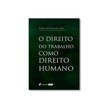 O Direito do Trabalho Como Direito Humano - André Filippe Loureiro E Silva - 9788584407309