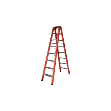 Escada Pintor Alulev Dupla Fibra 2,40 Metros 8 Degraus