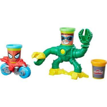 Imagem de Massa De Modelar Play-Doh Spider-Man Vs Doc Ock Marvel B9364 - Hasbro