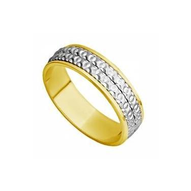 88651efef36 Aliança Casamento Ouro 18k Bodas de Ouro Feminina abp29