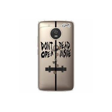 Capa Capinha QUARK Transp para Moto G5 - DONT OPEN