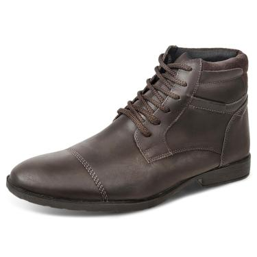 Bota Dress Boot Sandro Republic Grajaú Marrom Escura  masculino