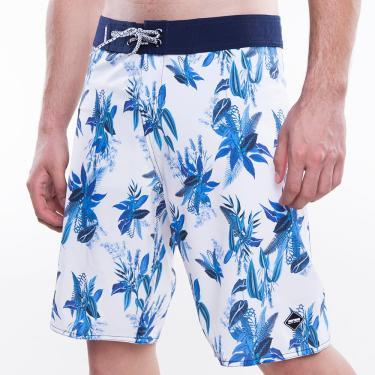 Boardshort masculino sublimado ever again mormaii Estampa-azul 40
