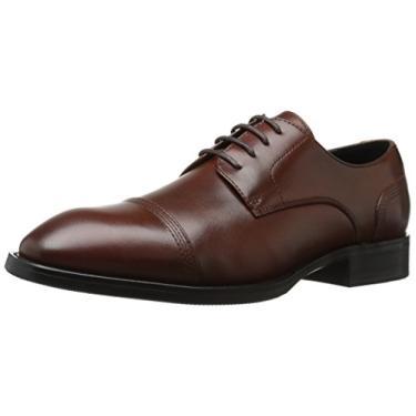 ZANZARA Gauguin Sapato Oxford Masculino Casual Tuxedo, Marrom, 8.5