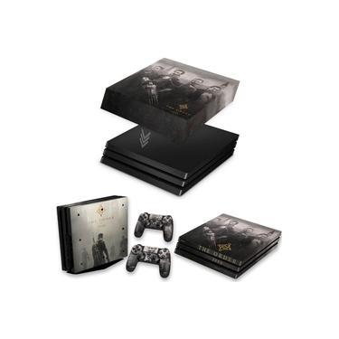Capa Anti Poeira e Skin para PS4 Pro - The Order