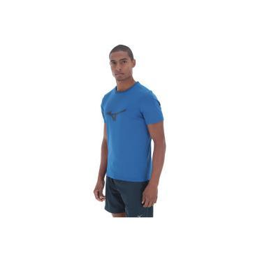 Camiseta Mizuno Run Spark - Masculina - AZUL AZUL ESC Mizuno dd5863bef8e72